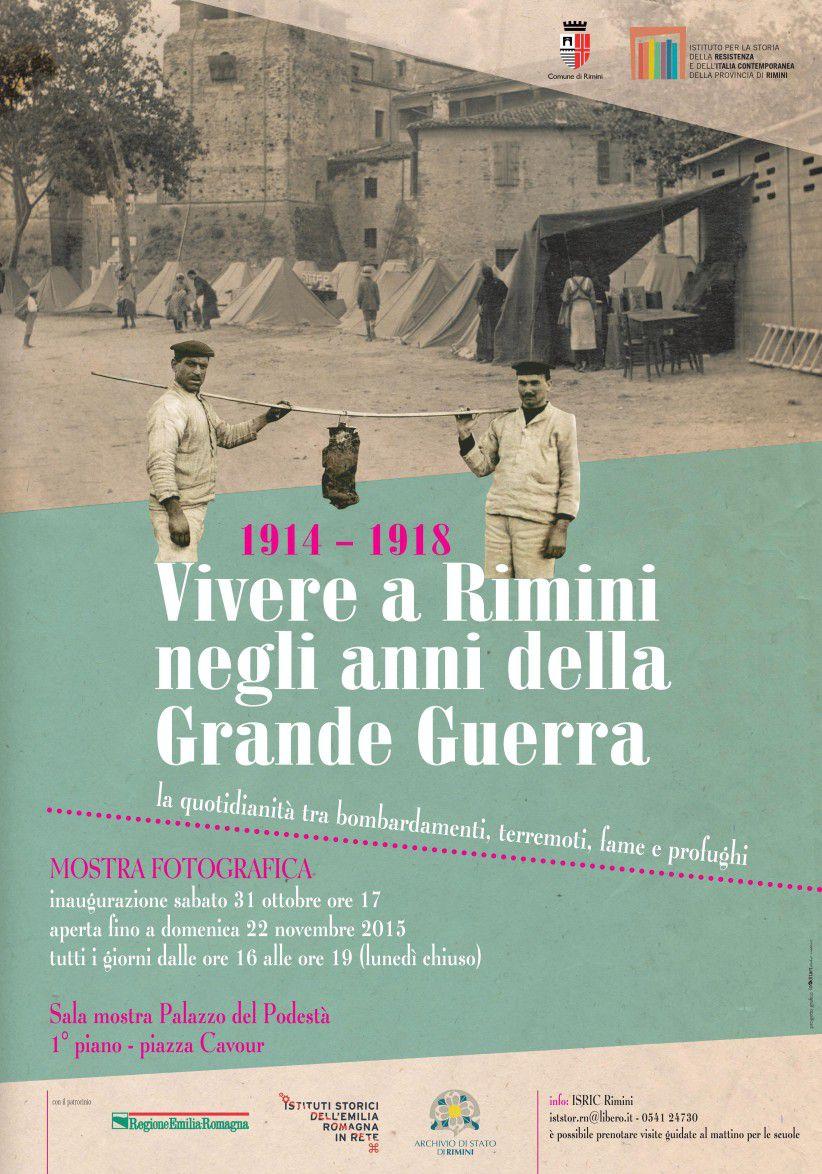 1914-1918. Vivere a Rimini negli anni della Grande Guerra