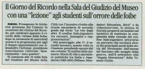 13.2.2016 Il Corriere di Rimini