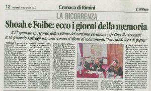 Il Corriere 22.1.2016