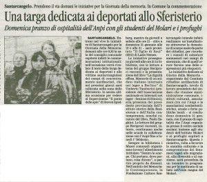 Il Corriere 26.1.2016