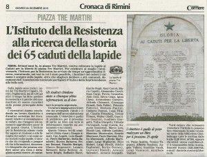 Il Corriere di Rimini 24.12.2015