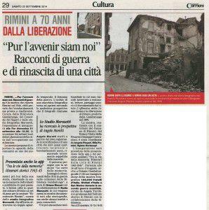 70° Corriere 20 settembre 2014
