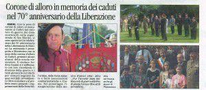 70° Corriere 22 settembre 2014