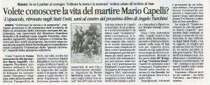 70° Corriere 23 settembre 2014