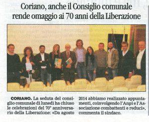 Il Corriere 29 aprile 2015