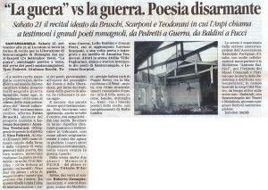 Il Corriere di Rimini 18 settembre 2013 presentazione La guera