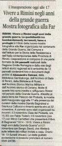 Il Corriere di Rimini 31.10.2015