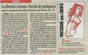 Il Corriere di Rimini 8 giugno 2015