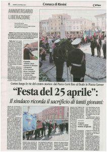 Il Corriere sabato 26 aprile 2014 Discorso Paolo Zaghini 1