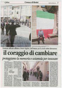 Il Corriere sabato 26 aprile 2014 Discorso Paolo Zaghini 2