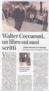 La Voce 18 settembre 2013 presentazione libro Ceccaroni