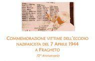72° anniversario della strage di Fragheto