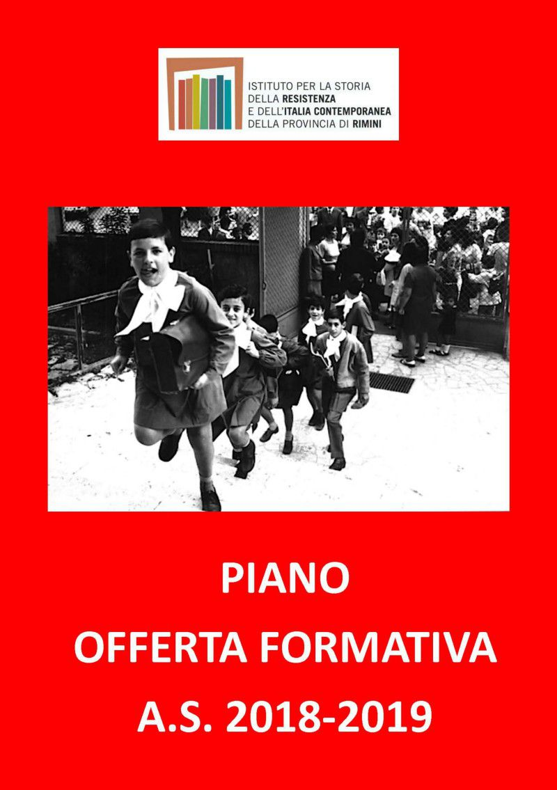 Piano Offerta Formativa a.s. 2018/19