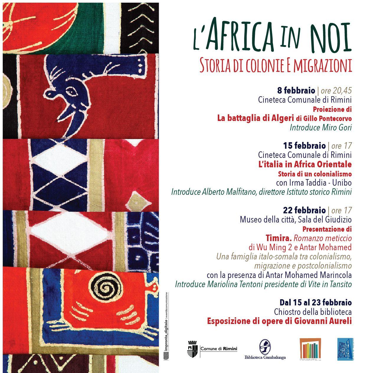 L' Africa in noi. Storie di colonie e migrazioni