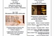 Inaugurazione ala dedicata all'Eccidio di Fragheto - Museo di Casteldelci
