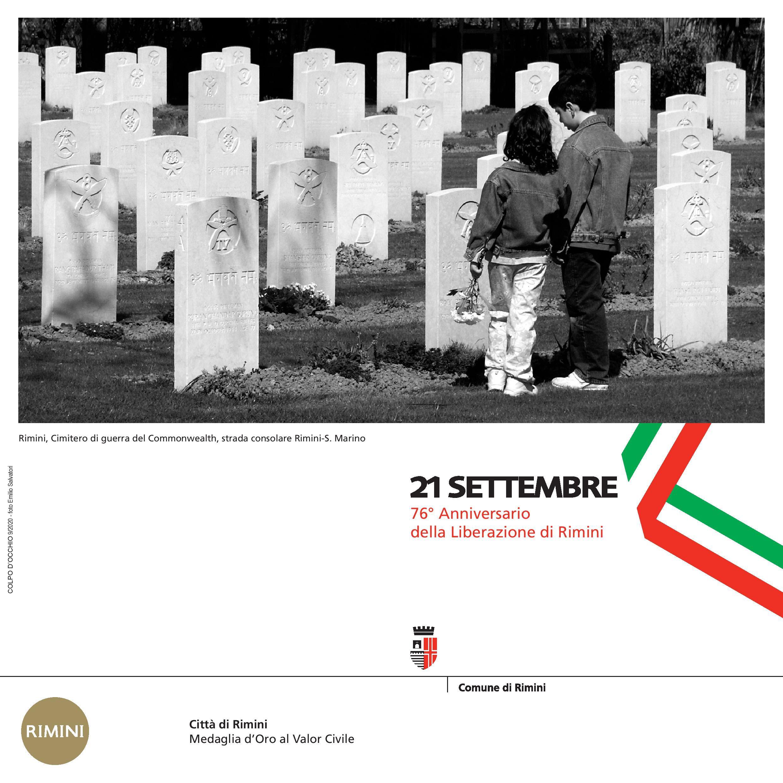 76° anniversario della liberazione di Rimini